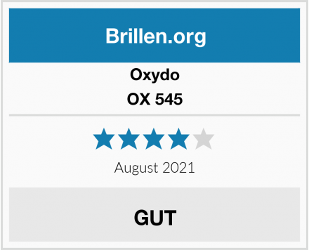 Oxydo OX 545 Test