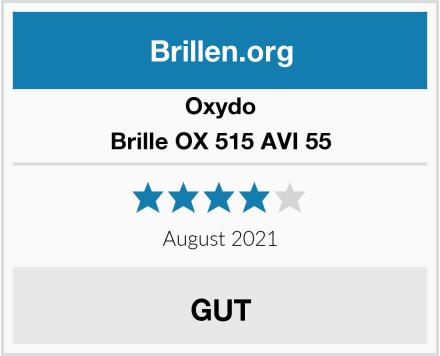 Oxydo Brille OX 515 AVI 55 Test
