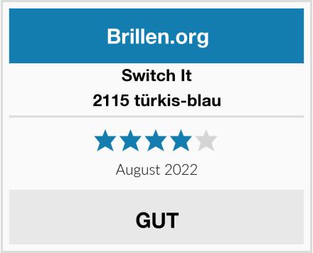 Switch It 2115 türkis-blau Test
