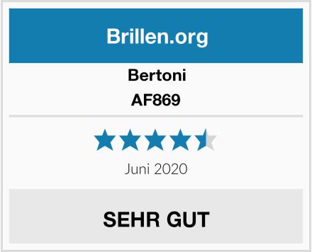Bertoni AF869 Test