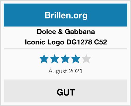 Dolce & Gabbana Iconic Logo DG1278 C52 Test
