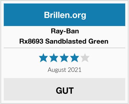 Ray-Ban Rx8693 Sandblasted Green  Test