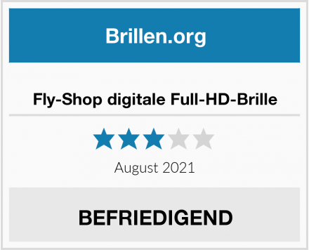 Fly-Shop digitale Full-HD-Brille Test