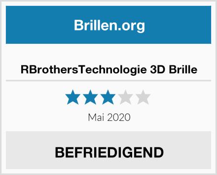 RBrothersTechnologie 3D Brille Test