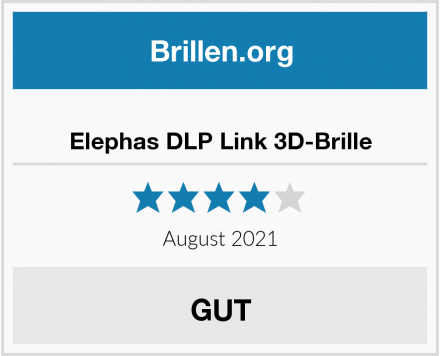 Elephas DLP Link 3D-Brille Test