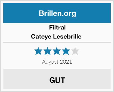 Filtral Cateye Lesebrille  Test