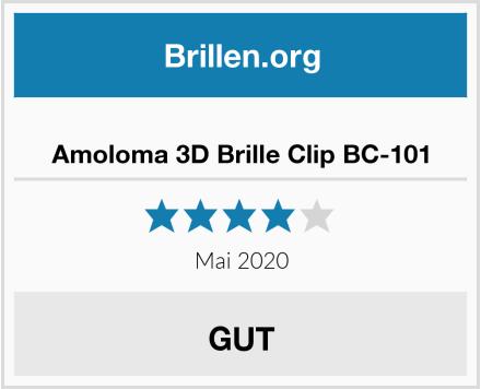 Amoloma 3D Brille Clip BC-101 Test