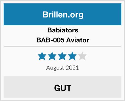 Babiators BAB-005 Aviator Test