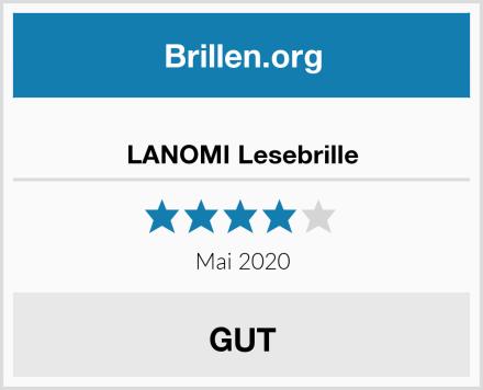 LANOMI Lesebrille Test