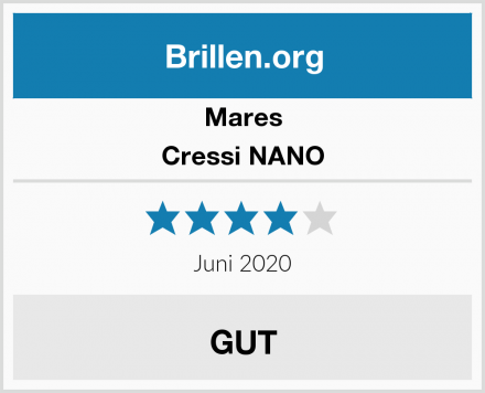 Mares Cressi NANO Test