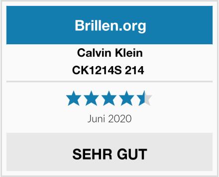 Calvin Klein CK1214S 214  Test
