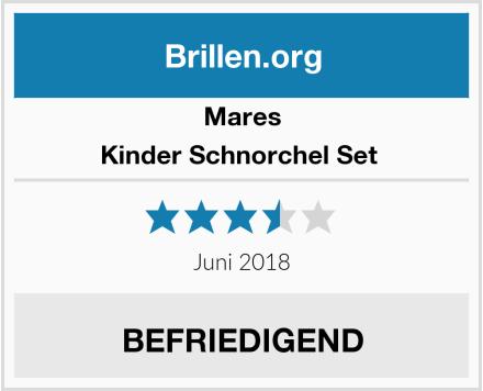 Mares Kinder Schnorchel Set  Test