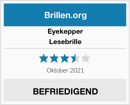 Eyekeeper Lesebrille Test