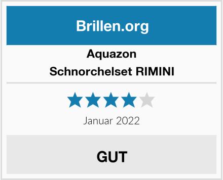 Aquazon Schnorchelset RIMINI Test