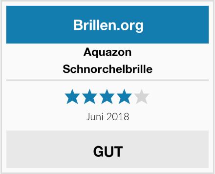 Aquazon Schnorchelbrille Test