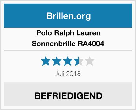 Polo Ralph Lauren Sonnenbrille RA4004 Test