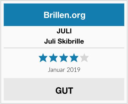 JULI Juli Skibrille Test