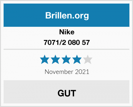 Nike 7071/2 080 57 Test
