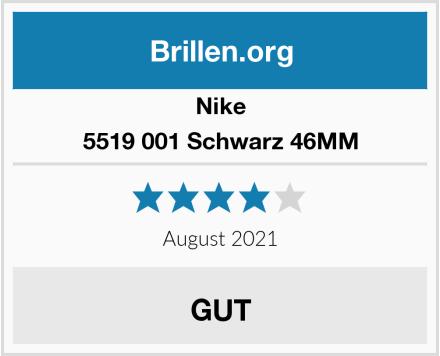 Nike 5519 001 Schwarz 46MM Test