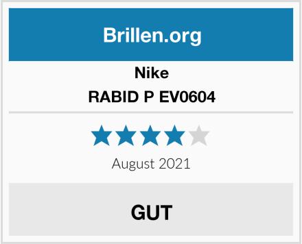 Nike RABID P EV0604 Test