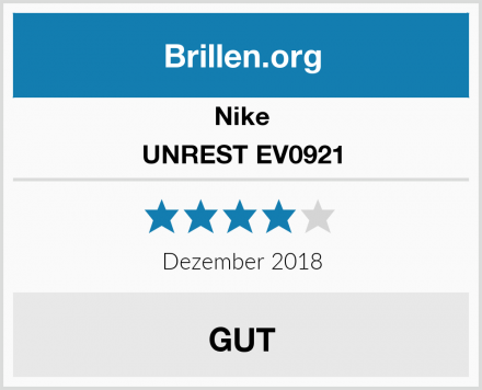 Nike UNREST EV0921 Test