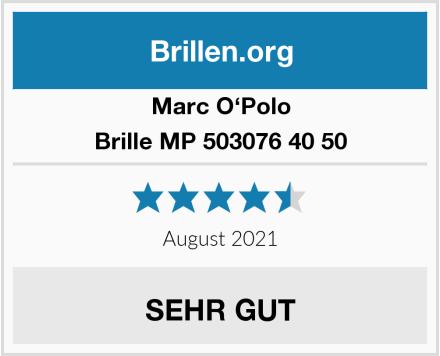 Marc O'Polo Brille MP 503076 40 50 Test