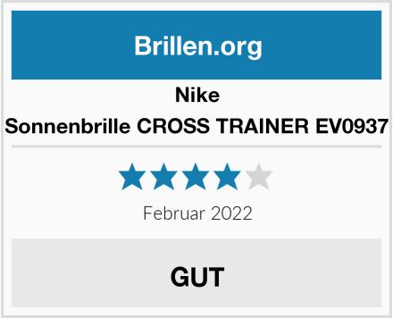Nike Sonnenbrille CROSS TRAINER EV0937 Test
