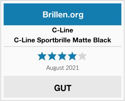 C-Line C-Line Sportbrille Matte Black Test