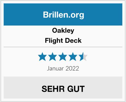 Oakley Flight Deck Test