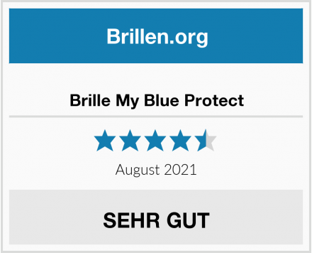 Brille My Blue Protect Test