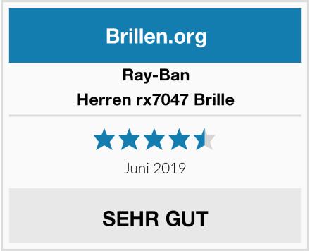 Ray-Ban Herren rx7047 Brille Test