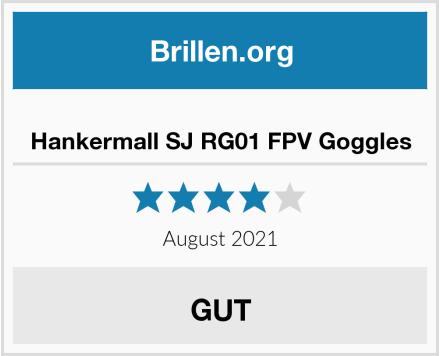 No Name Hankermall SJ RG01 FPV Goggles Test