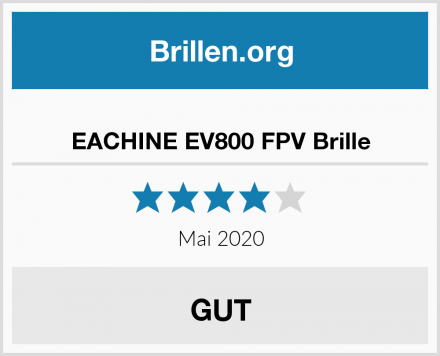 EACHINE EV800 FPV Brille Test
