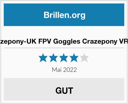 Crazepony-UK FPV Goggles Crazepony VR008 Test