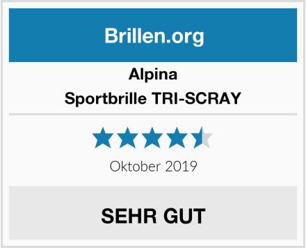 Alpina Sportbrille TRI-SCRAY Test