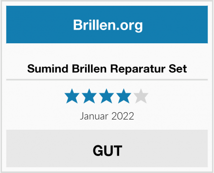 No Name Sumind Brillen Reparatur Set Test