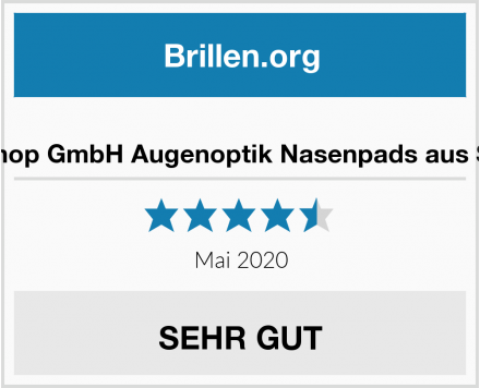 MailShop GmbH Augenoptik Nasenpads aus Silikon Test