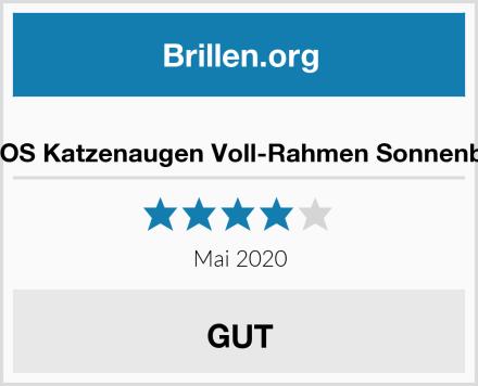 SOJOS Katzenaugen Voll-Rahmen Sonnenbrille Test