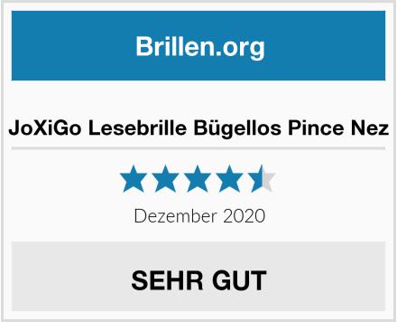 JoXiGo Lesebrille Bügellos Pince Nez Test