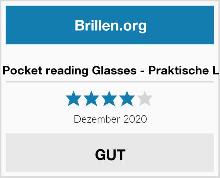 ICANDY Pocket reading Glasses - Praktische Lesebrille Test