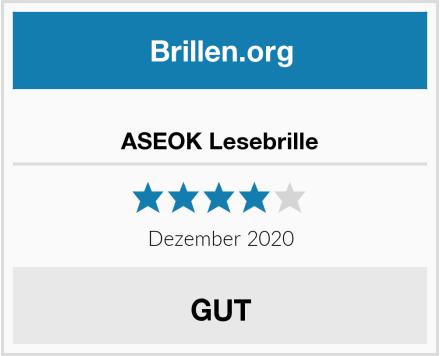 ASEOK Lesebrille Test