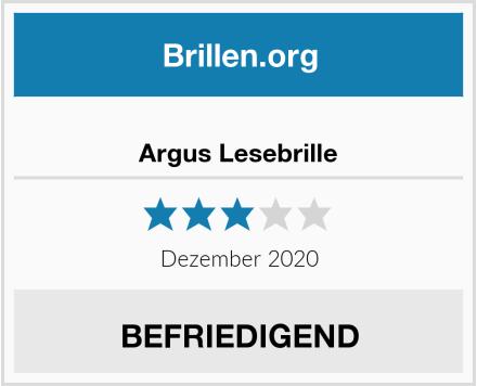 Argus Lesebrille Test