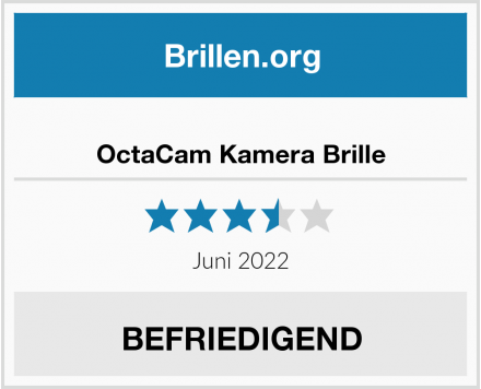 OctaCam Kamera Brille Test