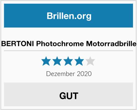 BERTONI Photochrome Motorradbrille Test