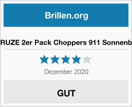 X-CRUZE 2er Pack Choppers 911 Sonnenbrille Test