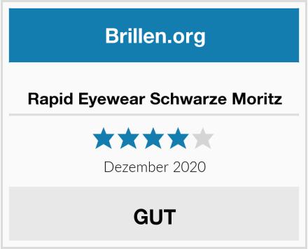 Rapid Eyewear Schwarze Moritz Test