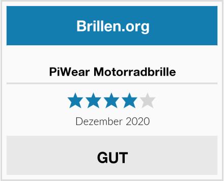 PiWear Motorradbrille Test