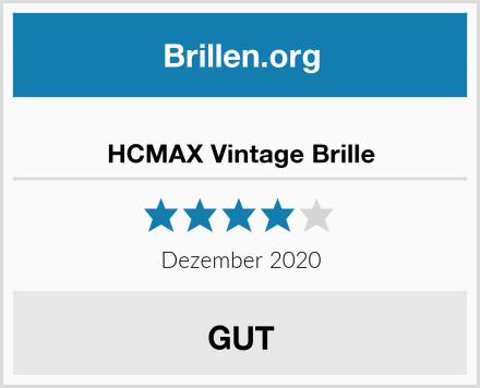 HCMAX Vintage Brille Test