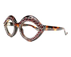 Braune Brillen