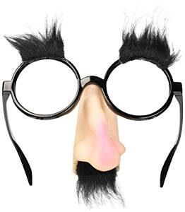 Brillen mit Nase